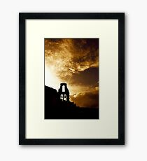 Corfu Skyline Framed Print