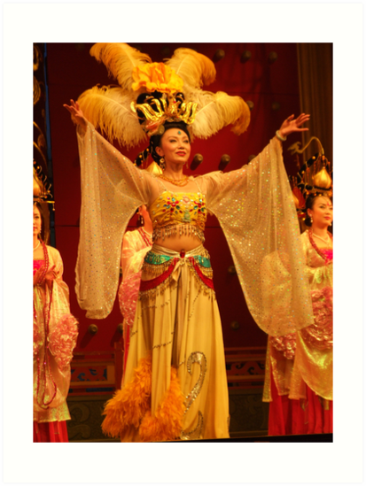 Traditional Chinese Dancer by georgieporgie