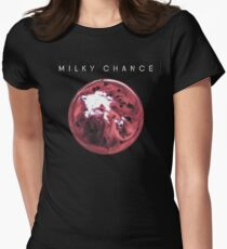 Milky Chance- Blossom Womens Fitted T-Shirt