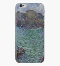 Claude Monet - Belle-Ile, Port-Goulphar, 1887 iPhone Case