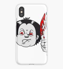 Horror knife iPhone Case