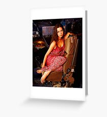 River Tam Greeting Card