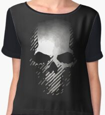 skull - grw Chiffon Top
