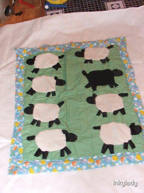 ba ba black sheep  by inkylady