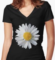 New Daisy Women's Fitted V-Neck T-Shirt