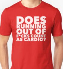 Running out of... Unisex T-Shirt