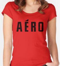 aero Women's Fitted Scoop T-Shirt