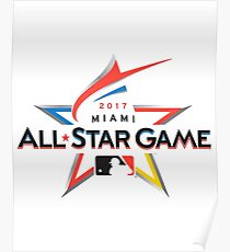 MLB All Star Game 2017 Poster
