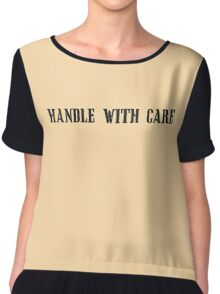 Handle With Care Chiffon Top