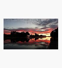 Hawkesbury River Sunrise Photographic Print