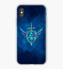Vinilo o funda para iPhone Skyward Sword Blue