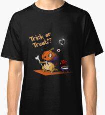 Cute Cubone playing Trick or Treat!  Classic T-Shirt