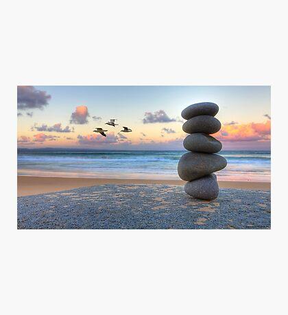 Granite Zen Photographic Print