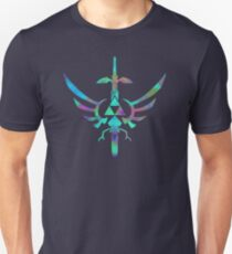 Skyward Sword Blue Alt Slim Fit T-Shirt