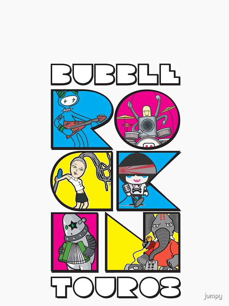 BubbleRock World Tour by jumpy