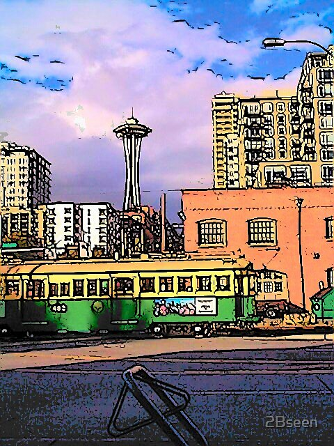 Life Around the Needle by 2Bseen
