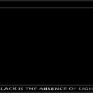 Black Is The Absence Of Light by Carlo Cesar Rodillas