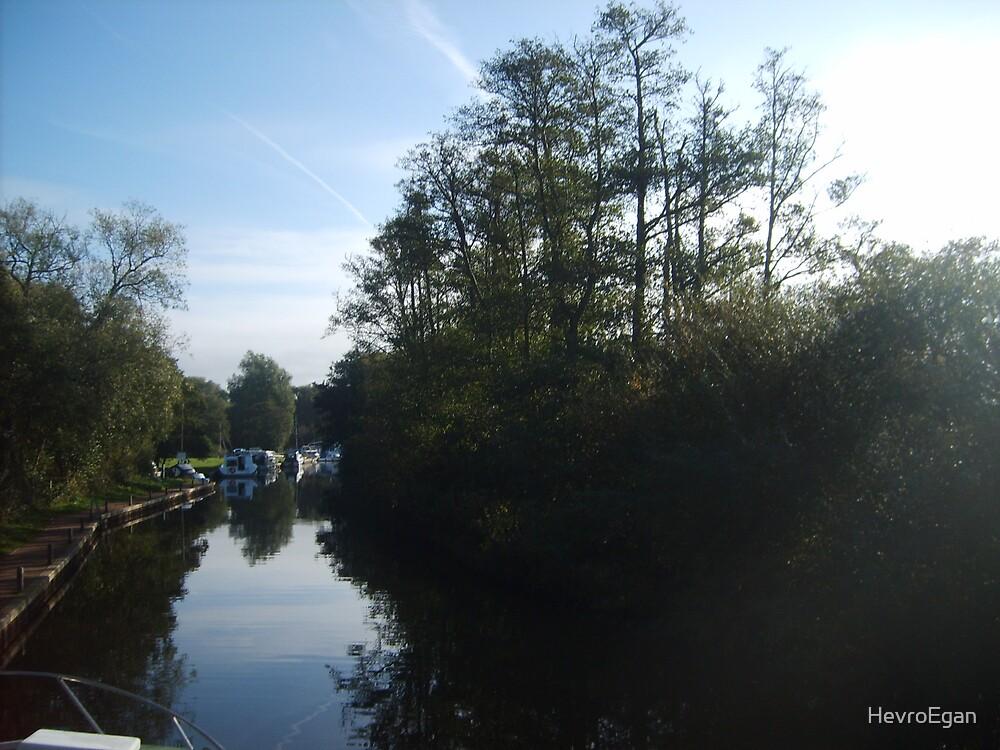 Norfolk Broads Morning by HevroEgan