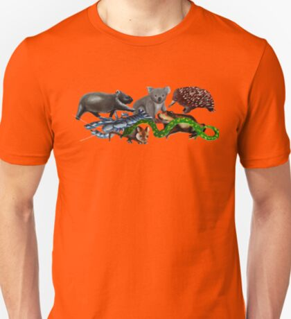 Australian animals collage T-Shirt