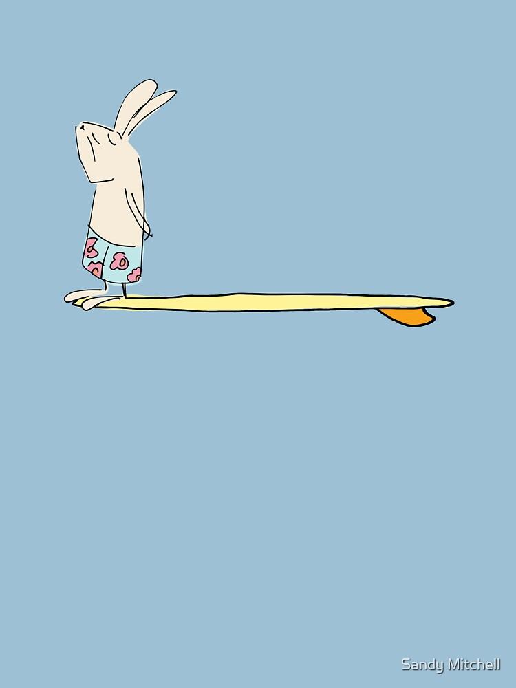 surf bunny by sandymitchell