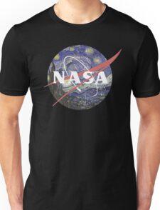 NASA Logo Starry Night Unisex T-Shirt