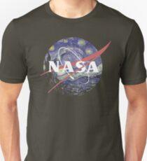 NASA Logo Starry Night T-Shirt