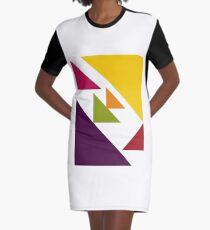 Color 2017 Graphic T-Shirt Dress