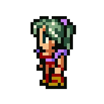 Pixel Terra Branford Final Fantasy 6 by yanting