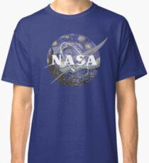Starry Night Nasa Logo Classic T-Shirt