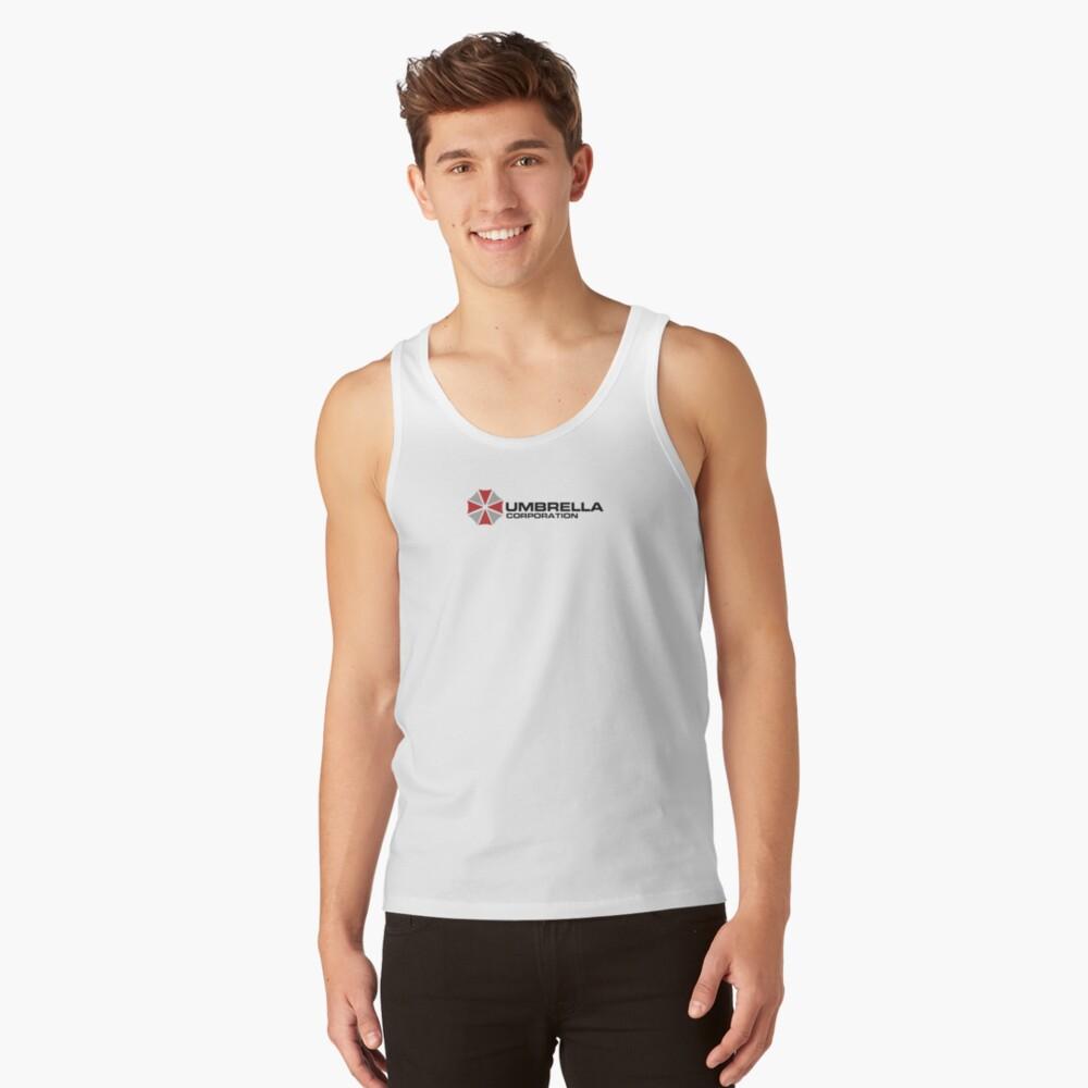 Umbrella Corporation, White, Resident Evil Camiseta de tirantes