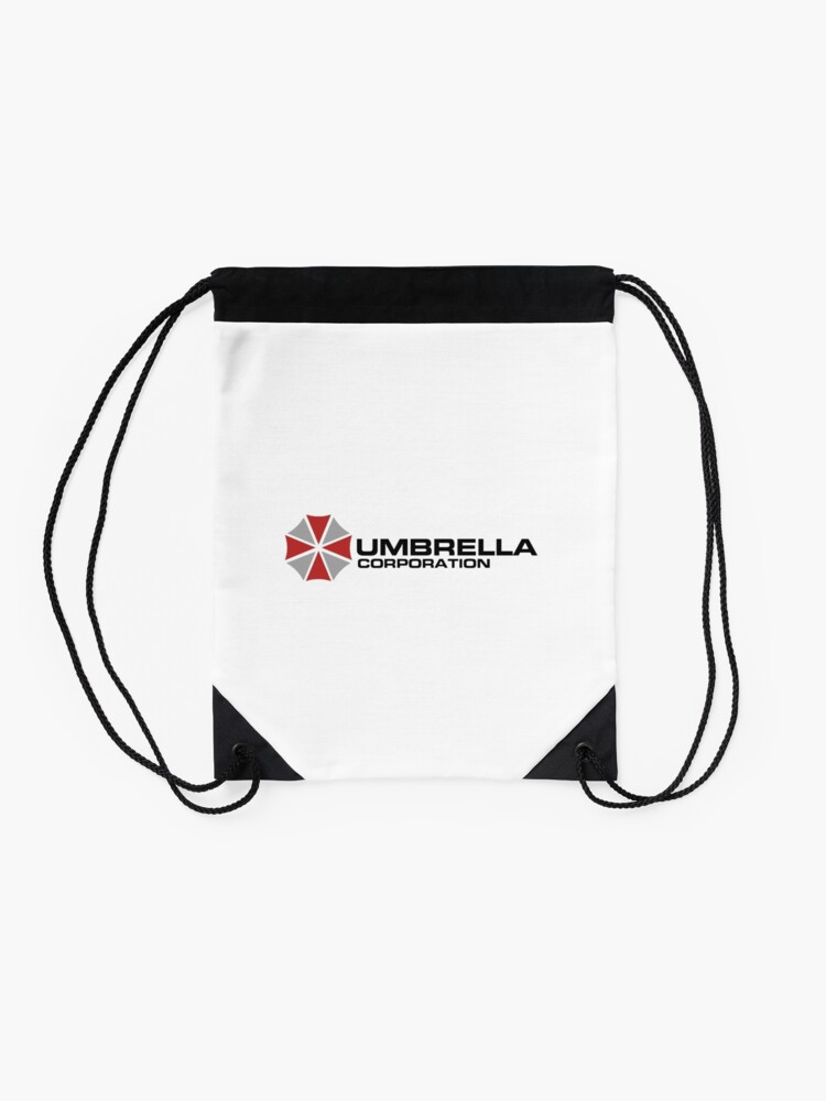 Vista alternativa de Mochila saco Umbrella Corporation, White, Resident Evil