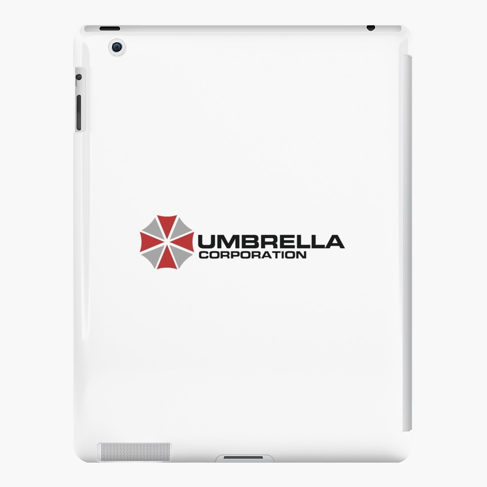 Umbrella Corporation, White, Resident Evil Funda y vinilo para iPad