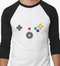 N64 Controller Illustration Nintendo Inspired Drawling Old School Video Game Sticker T-Shirt Phone Case T-Shirt