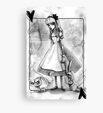 Alice? Canvas Print