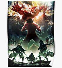 Shingeki no Kyojin 2 [Poster HD No Logo] Poster