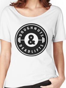 Doughnuts Deadlifts Women's Relaxed Fit T-Shirt