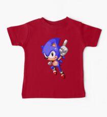 Sonic Pixel Art Kids Clothes
