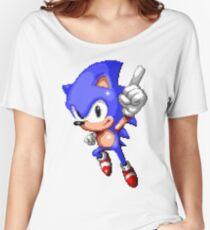 Sonic Pixel Art Women's Relaxed Fit T-Shirt