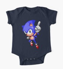 Sonic Pixel Art One Piece - Short Sleeve