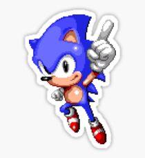 Sonic Pixel Art Sticker