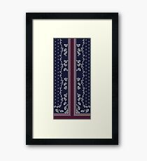 Border Paisley Framed Print