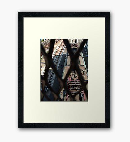 Sleeping train 1 Framed Print