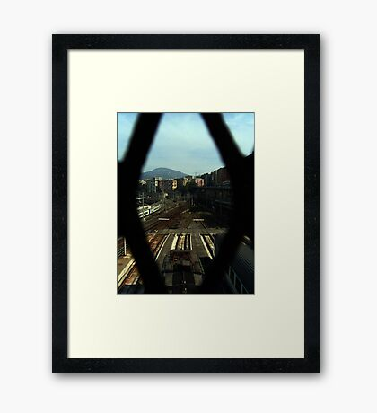Sleeping train 2 Framed Print
