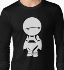 the hitchhiker's guide to the galaxy depressed robot T-Shirt