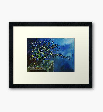 Blue bunch Framed Print