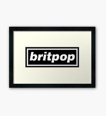 Britpop Now Framed Print