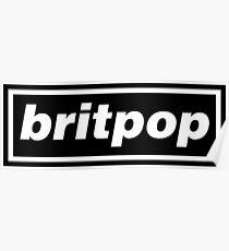 Britpop Now Poster