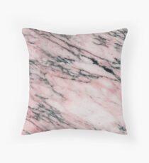 Pavonazza Rosa marble Throw Pillow