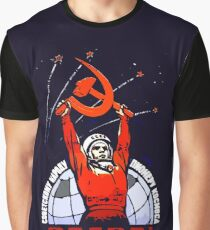 Glory to the Soviet People - The Pioneers of Space Graphic T-Shirt