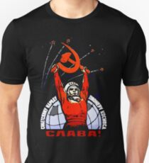 Glory to the Soviet People - The Pioneers of Space T-Shirt